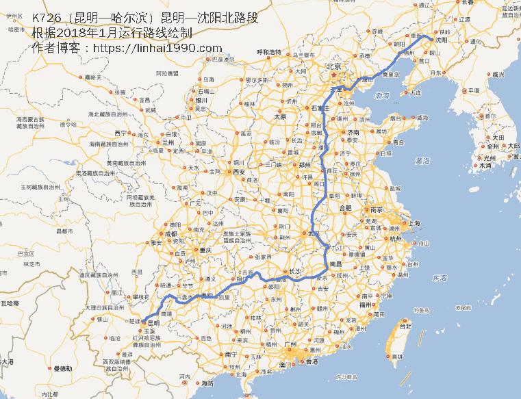 K726运行图